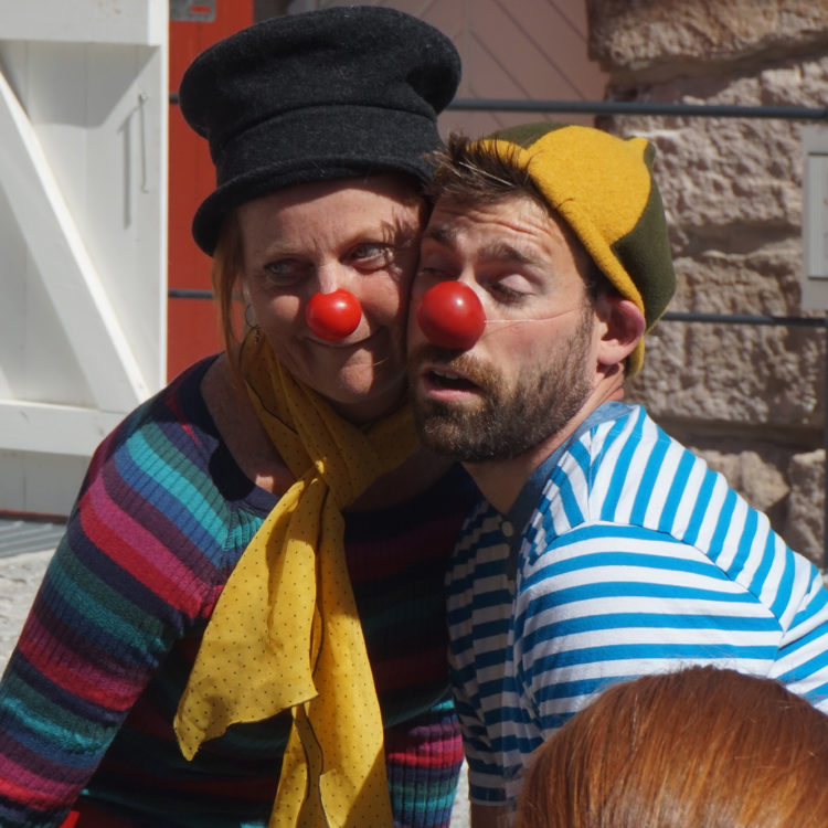 Module 2 - My clown & my partner
